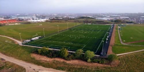 Building for the future - New 3G pitches and athletics track