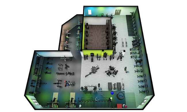 GIS gym plan