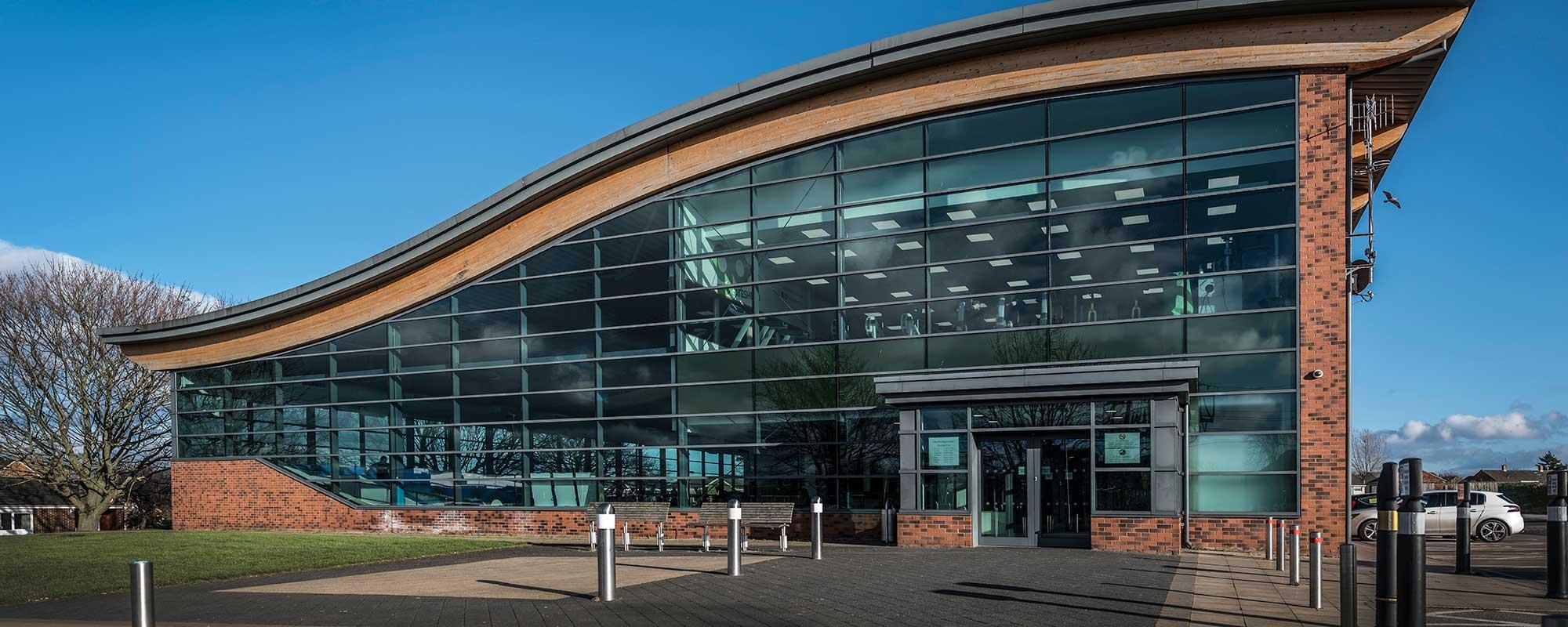 Heworth Leisure Centre landing page