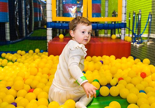 GO Bears Den soft play